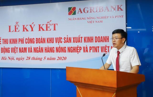 Agribank và Tổng Liên đoàn Lao động Việt Nam ký kết Quy chế hợp tác toàn diện - 1