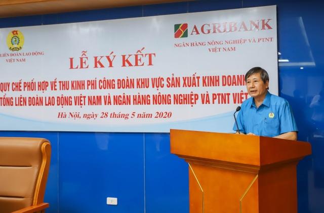 Agribank và Tổng Liên đoàn Lao động Việt Nam ký kết Quy chế hợp tác toàn diện - 2