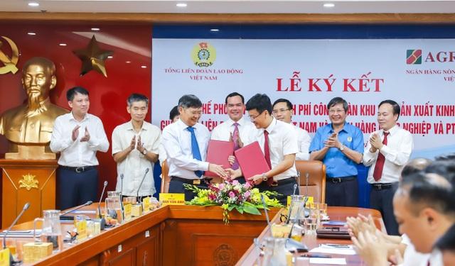 Agribank và Tổng Liên đoàn Lao động Việt Nam ký kết Quy chế hợp tác toàn diện - 3