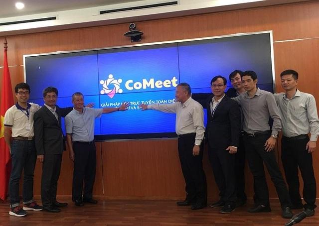 Bộ TTTT ra mắt Giải pháp Hội nghị trực tuyến CoMeet - 2