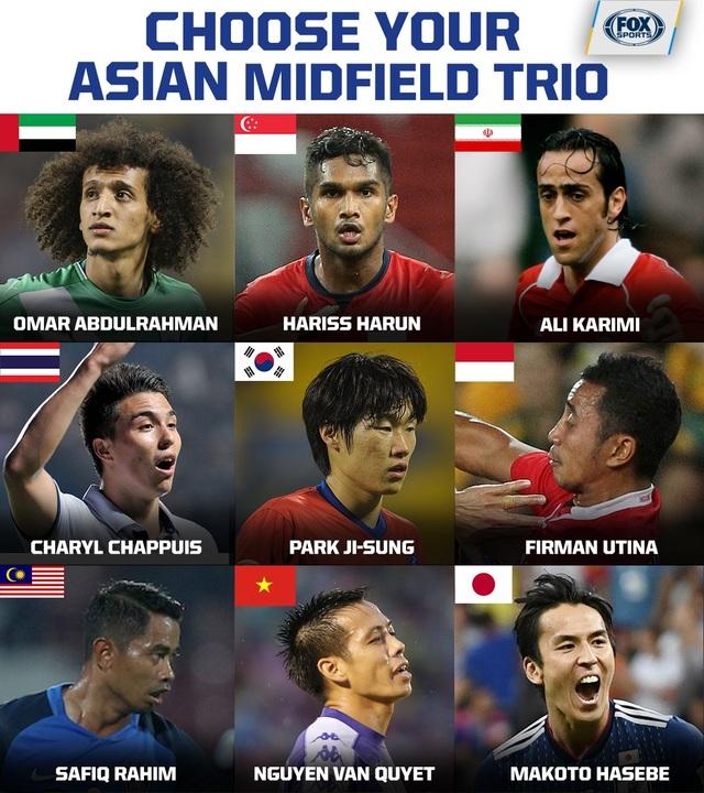 Báo châu Á chọn Văn Quyết vào top tiền vệ hay nhất châu Á - 1
