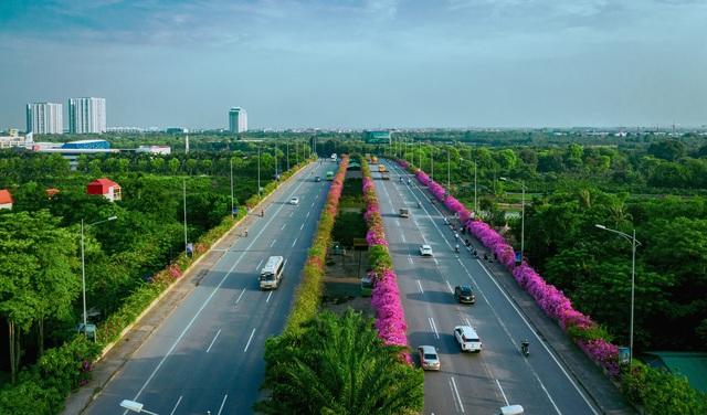 """Phát sốt"""" với con đường hoa giấy đẹp quên lối về ngay gần Hà Nội - 13"""