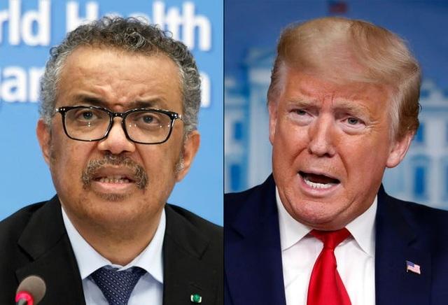 Ông Trump tuyên bố Mỹ cắt đứt quan hệ với WHO - 1
