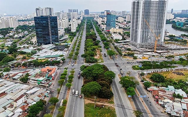 """Đại đô thị Nam Sài Gòn """"lăm le"""" vượt mặt khu Đông - 1"""