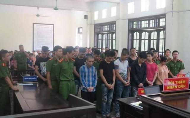 Hà Nội: 14 thanh niên đua xe lĩnh án tù - 1