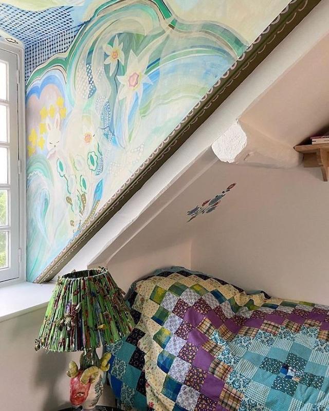 Buồn chán vì nghỉ làm tránh dịch, nữ họa sỹ trang trí nhà đẹp như cổ tích - 8