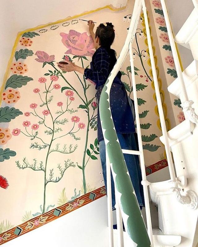 Buồn chán vì nghỉ làm tránh dịch, nữ họa sỹ trang trí nhà đẹp như cổ tích - 12