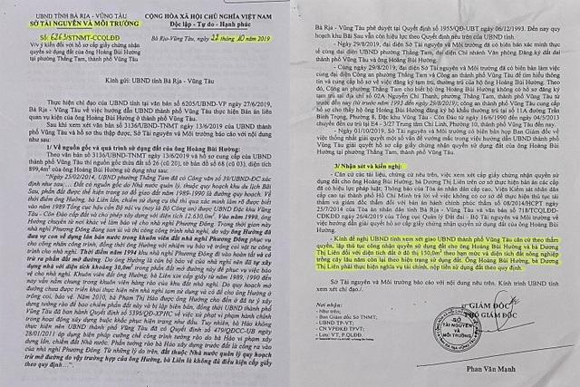 Vụ hành dân tại Vũng Tàu: Chủ tịch UBND tỉnh chỉ đạo giải quyết thế nào? - 10