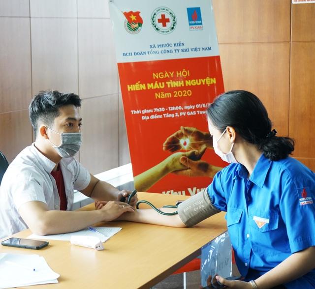 Đoàn thanh niên PV Gas tích cực tham gia Ngày hội hiến máu nhân đạo - 2