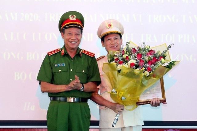 PGĐ Công an Hà Nội làm Cục trưởng Cục Cảnh sát điều tra tội phạm về ma túy - 1