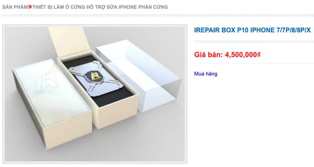 Chiêu phù phép thông số iPhone dựng, người mua nên cảnh giác - 1