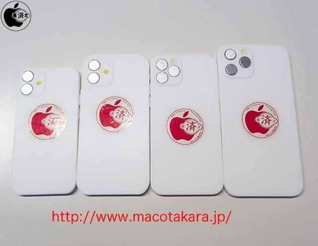 Lộ diện mô hình iPhone 12 gồm 4 phiên bản, kèm khay SIM 5G - 2