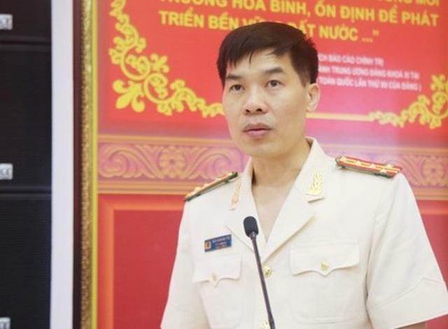 Trưởng phòng - Cục Cảnh sát Kinh tế làm Phó Giám đốc Công an tỉnh Nghệ An - 2