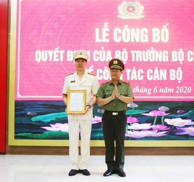 Trưởng phòng - Cục Cảnh sát Kinh tế làm Phó Giám đốc Công an tỉnh Nghệ An - 1