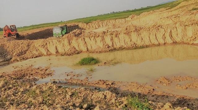 Qua mặt chính quyền, khai thác đất trái phép tràn lan tại Nghệ An - 8