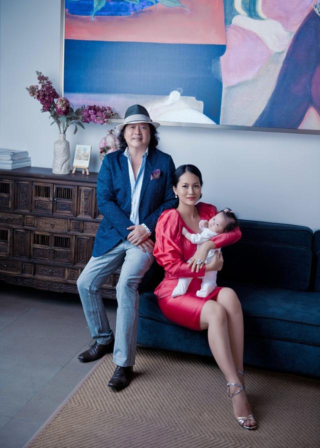 """Ở ẩn 5 năm, """"cô Pao"""" Đỗ Thị Hải Yến sinh liền 3 nhóc cho ông xã - 8"""