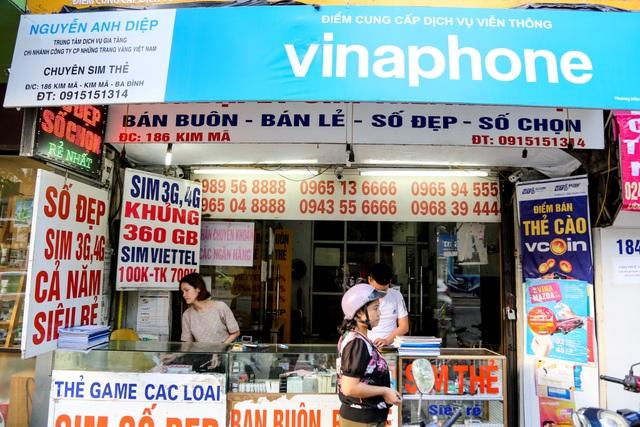 Viettel, VinaPhone, MobiFone ngừng bán SIM hòa mạng tại các đại lý