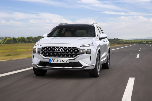 Lộ diện Hyundai Santa Fe 2021 - Dùng tiểu xảo để gia tăng kích thước - 13