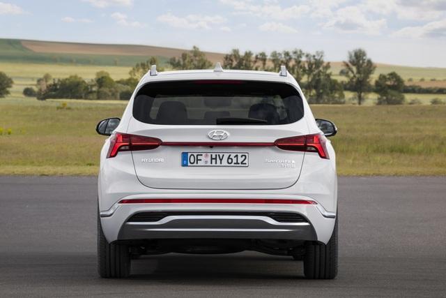 Lộ diện Hyundai Santa Fe 2021 - Dùng tiểu xảo để gia tăng kích thước - 16