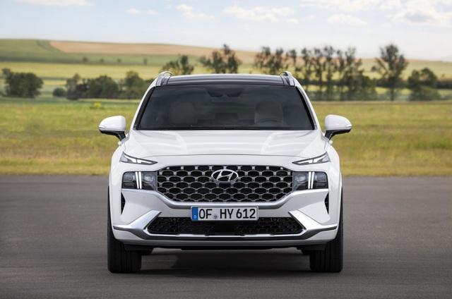 Lộ diện Hyundai Santa Fe 2021 - Dùng tiểu xảo để gia tăng kích thước - 12
