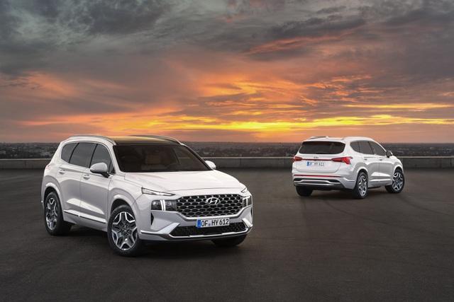 Lộ diện Hyundai Santa Fe 2021 - Dùng tiểu xảo để gia tăng kích thước - 17