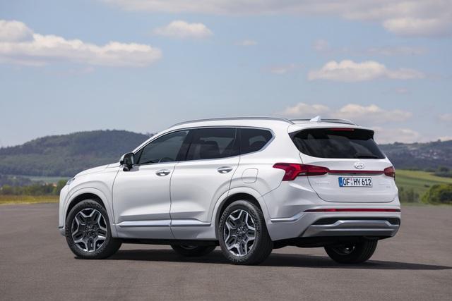Lộ diện Hyundai Santa Fe 2021 - Dùng tiểu xảo để gia tăng kích thước - 14