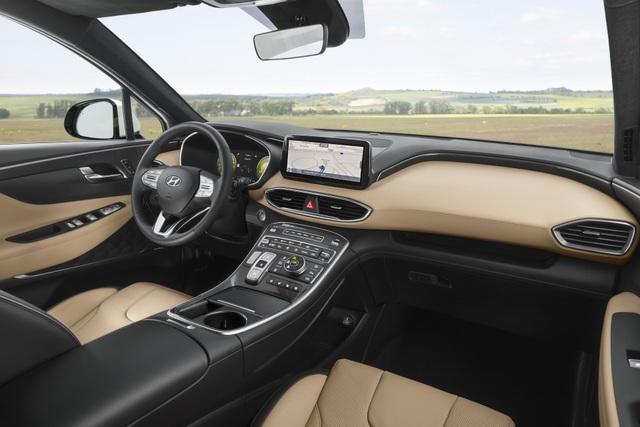 Lộ diện Hyundai Santa Fe 2021 - Dùng tiểu xảo để gia tăng kích thước - 9