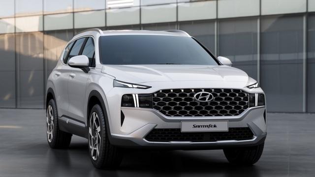 Lộ diện Hyundai Santa Fe 2021 - Dùng tiểu xảo để gia tăng kích thước - 6