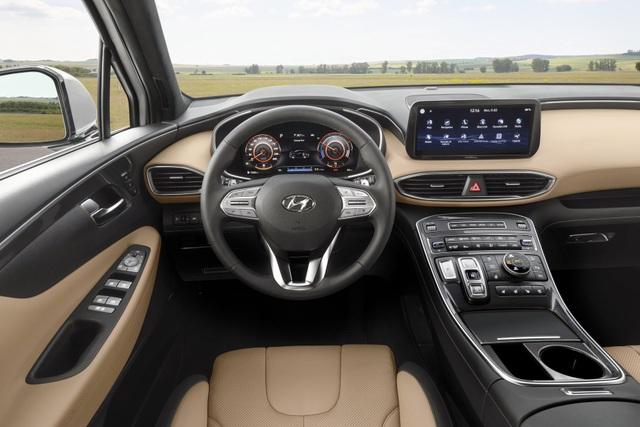 Lộ diện Hyundai Santa Fe 2021 - Dùng tiểu xảo để gia tăng kích thước - 10