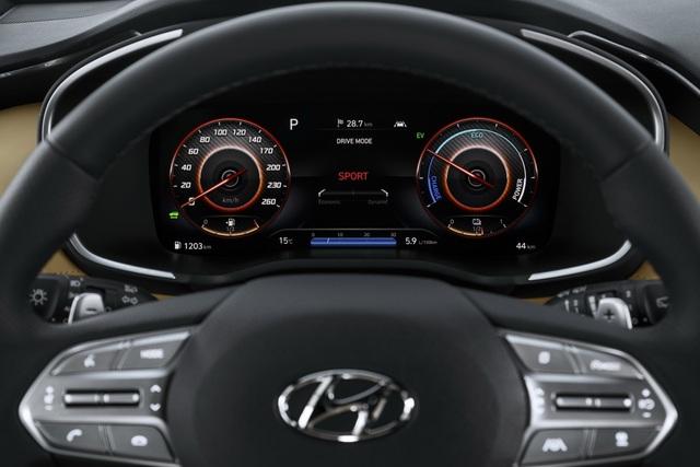 Lộ diện Hyundai Santa Fe 2021 - Dùng tiểu xảo để gia tăng kích thước - 11