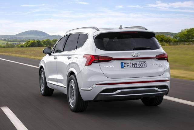 Lộ diện Hyundai Santa Fe 2021 - Dùng tiểu xảo để gia tăng kích thước - 15