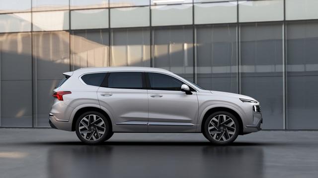 Lộ diện Hyundai Santa Fe 2021 - Dùng tiểu xảo để gia tăng kích thước - 7