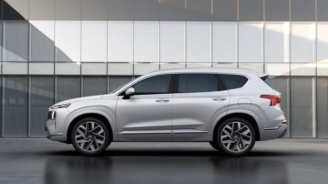 Lộ diện Hyundai Santa Fe 2021 - Dùng tiểu xảo để gia tăng kích thước - 8