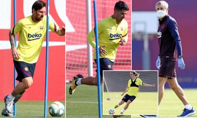 5 cầu thủ Barcelona dương tính với Covid-19 - 1