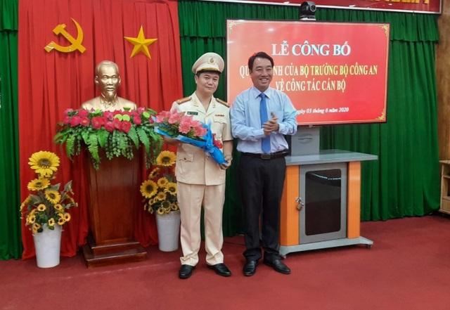 Hàng loạt thay đổi nhân sự tại Công an tỉnh Vĩnh Long - 1