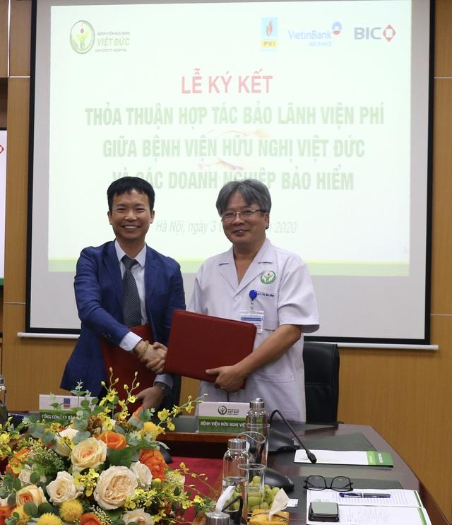 Bảo hiểm PVI và Bệnh viện Hữu nghị Việt Đức ký kết Thỏa thuận hợp tác bảo lãnh viện phí - 1