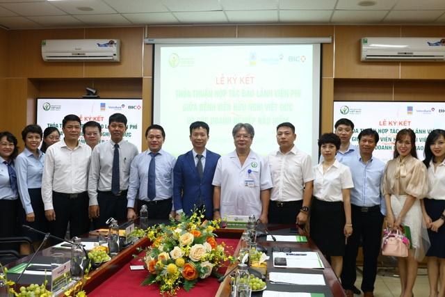 Bảo hiểm PVI và Bệnh viện Hữu nghị Việt Đức ký kết Thỏa thuận hợp tác bảo lãnh viện phí - 2