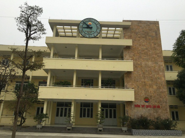 Công bố điểm chuẩn vào lớp 10 Trường THPT chuyên Lam Sơn - 1