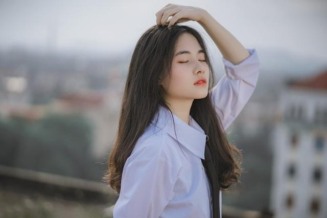 Vẻ đẹp đượm nét thơ ngây của nữ sinh Bắc Giang trong bộ đồng phục - 9