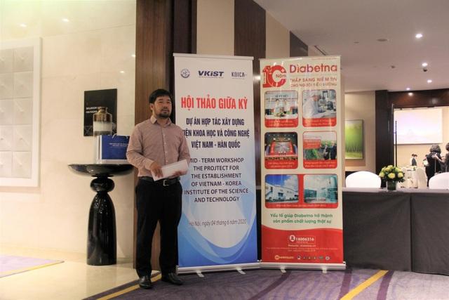Diabetna tự hào là thảo dược hỗ trợ hạ đường huyết duy nhất được Viện KHCN Việt Nam - Hàn Quốc lựa chọn hợp tác - 6
