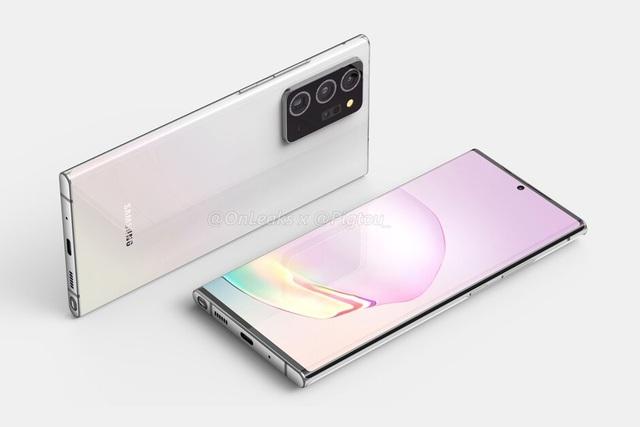 Lộ thông tin cấu hình chi tiết bộ đôi Galaxy Note20+ và Note20 Ultra - 2