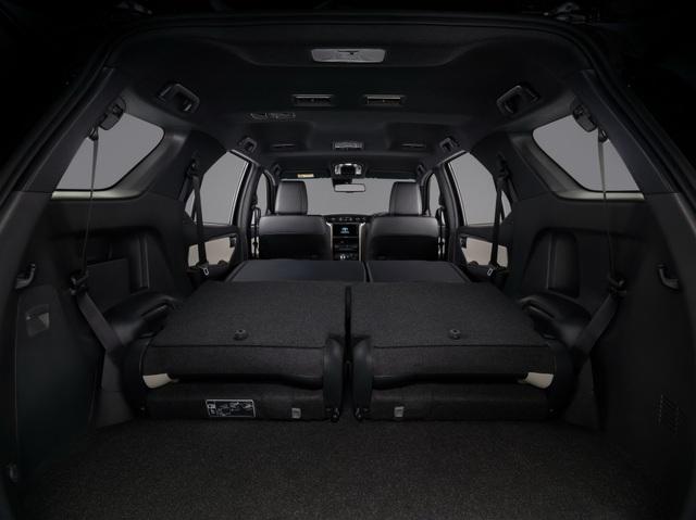 Toyota Fortuner phiên bản nâng cấp 2021 có gì mới? - 21