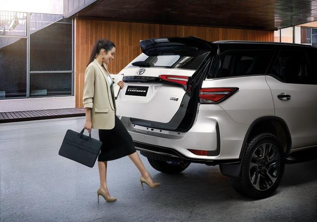 Toyota Fortuner phiên bản nâng cấp 2021 có gì mới? - 26