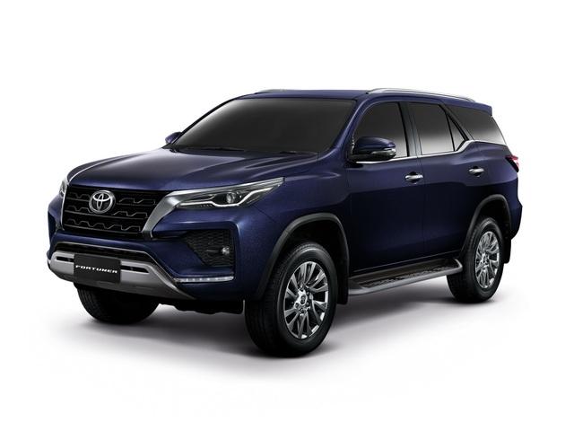 Toyota Fortuner phiên bản nâng cấp 2021 có gì mới? - 1