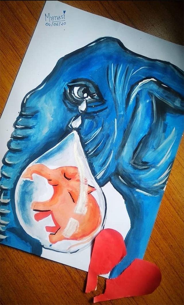 Cộng đồng mạng quốc tế xót xa trước bộ tranh kể về bi kịch của voi mẹ - 19