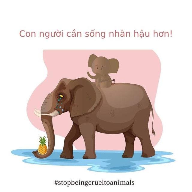 Cộng đồng mạng quốc tế xót xa trước bộ tranh kể về bi kịch của voi mẹ - 9