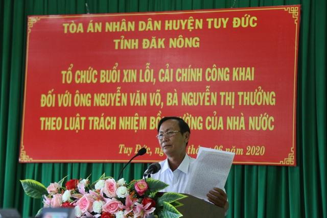 Hai quan toà gây oan sai trong vụ án lạ tại Đắk Nông bị kỷ luật là ai? - 2