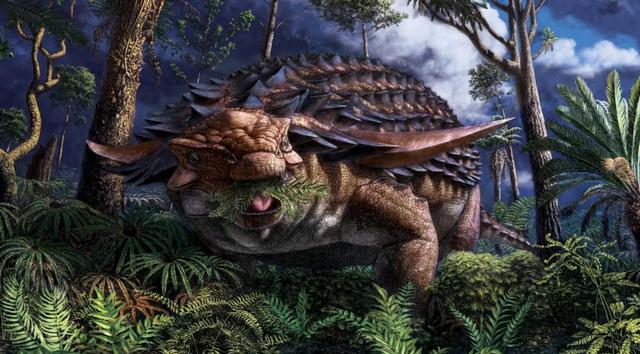 """Hóa thạch 110 triệu năm tiết lộ """"bữa ăn cuối cùng"""" của khủng long - 1"""