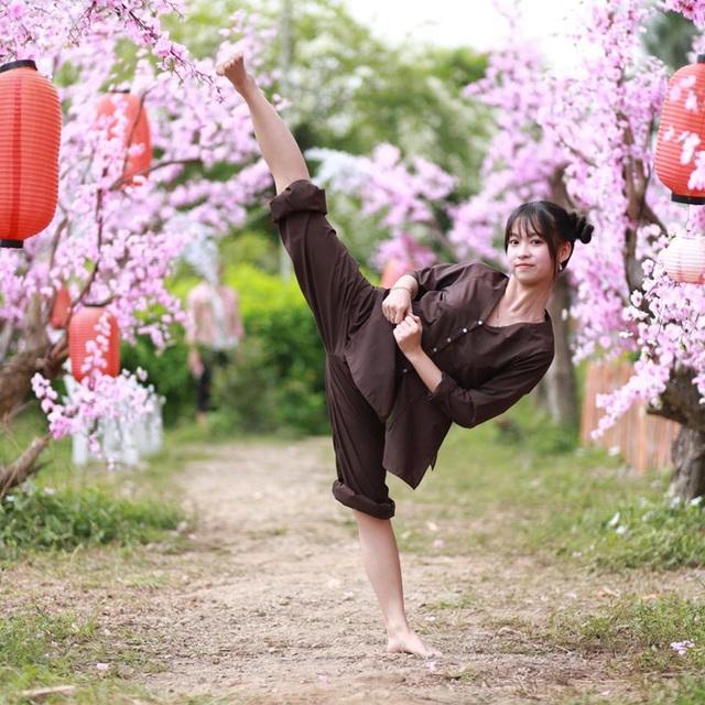 Nữ sinh 17 tuổi đam mê võ thuật, sở hữu thần thái như ngọc nữ - 7