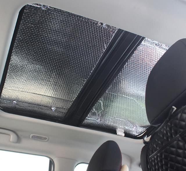 Muôn kiểu chống nóng ô tô của tài xế Việt giữa chảo lửa mùa hè - 1